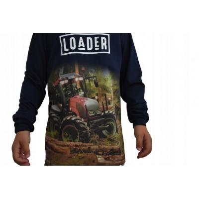 Bluzka koszulka długi rękaw TRAKTOR CIĄGNIK